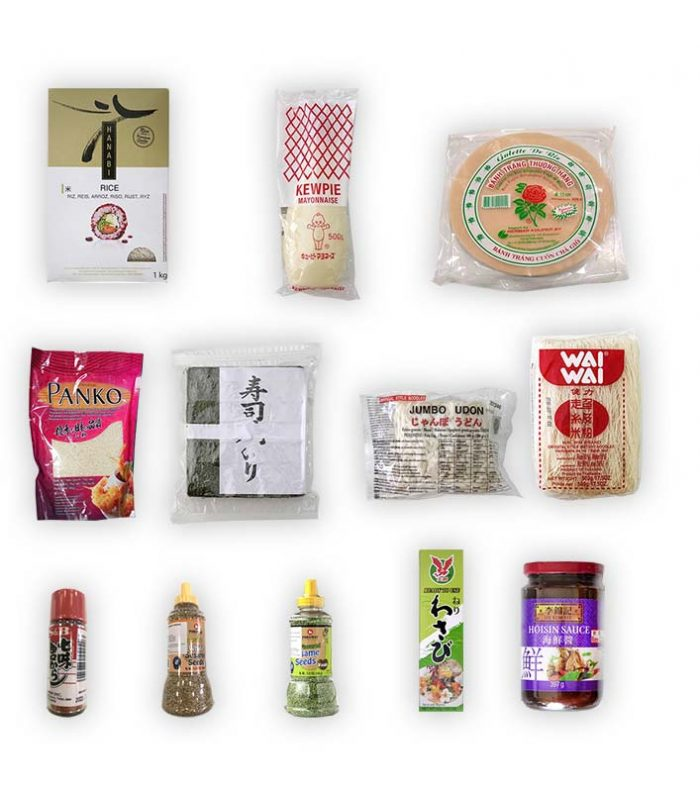 Pack productos asiático